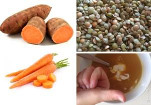 zoete-wortel-linzensoep